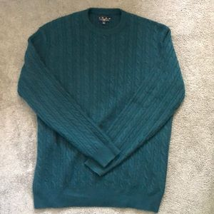 TALL men's 100% CASHMERE sweater